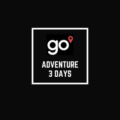 Adventure 3 days.